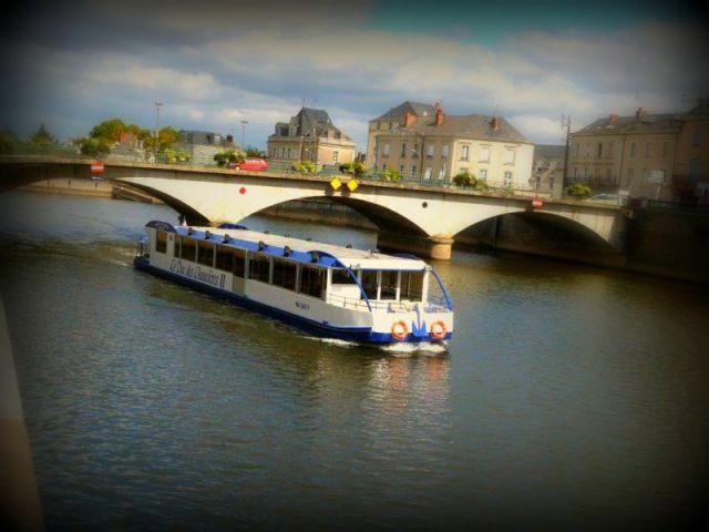 Déjeuner croisière sur la Mayenne